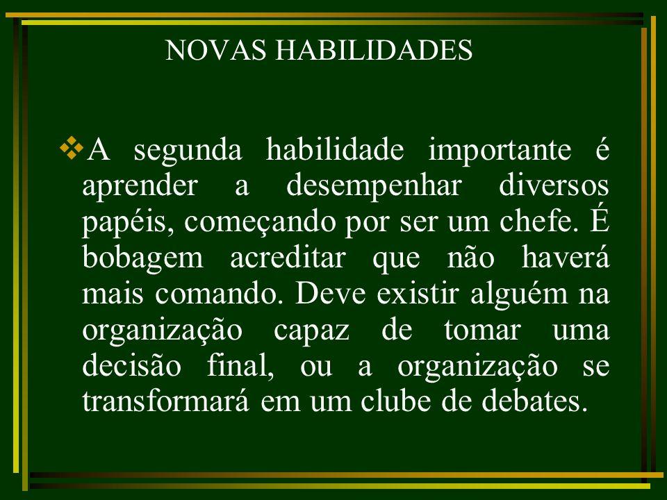 NOVAS HABILIDADES
