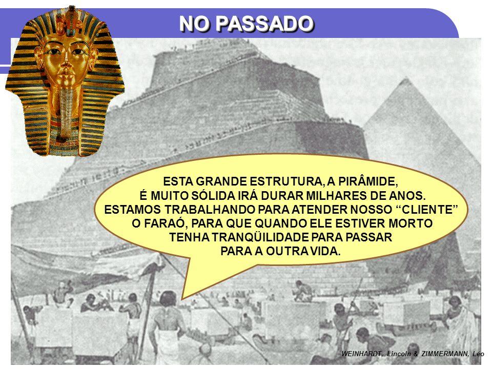 NO PASSADO ESTA GRANDE ESTRUTURA, A PIRÂMIDE,
