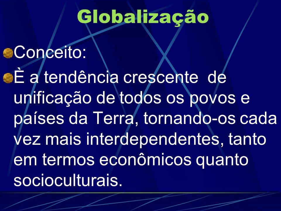 Globalização Conceito: