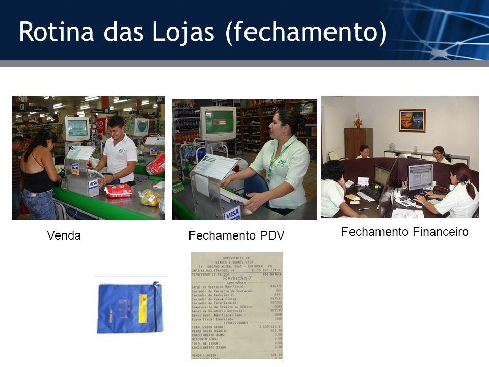 Rotina das Lojas (fechamento)