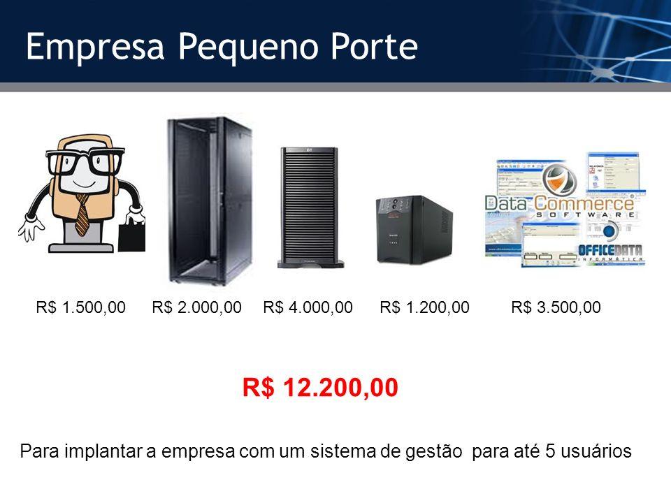 Empresa Pequeno Porte R$ 12.200,00