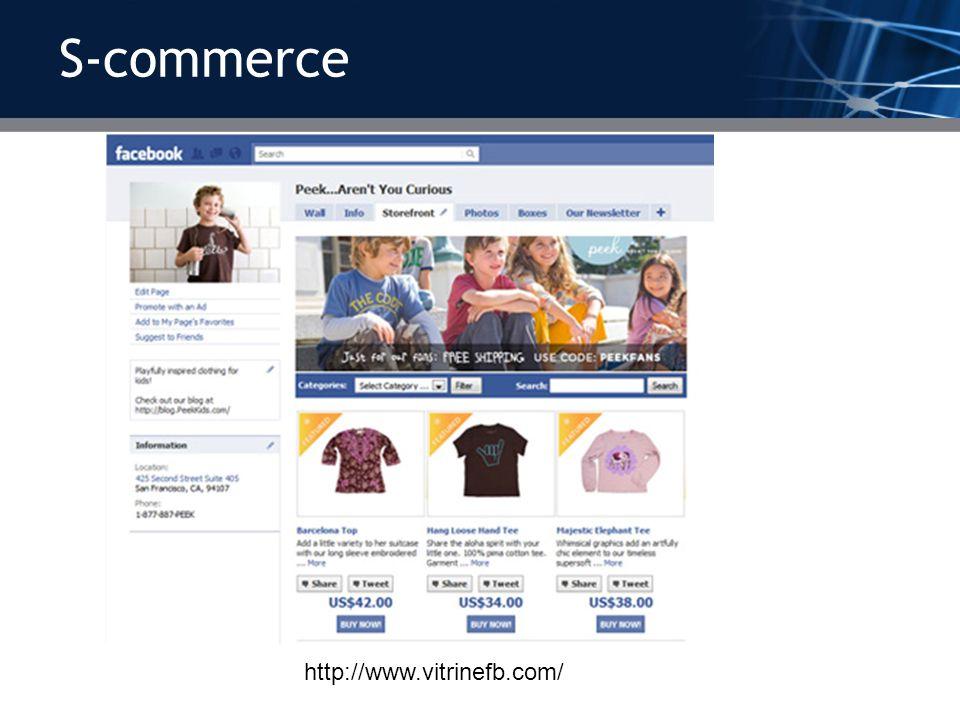 S-commerce http://www.vitrinefb.com/