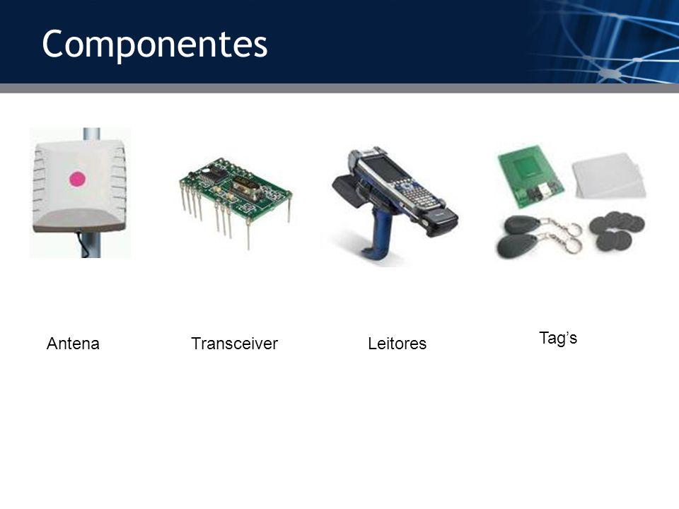 Componentes Antena Leitores Transceiver Tag's