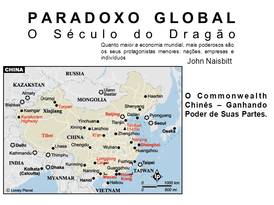 PARADOXO GLOBAL O Século do Dragão