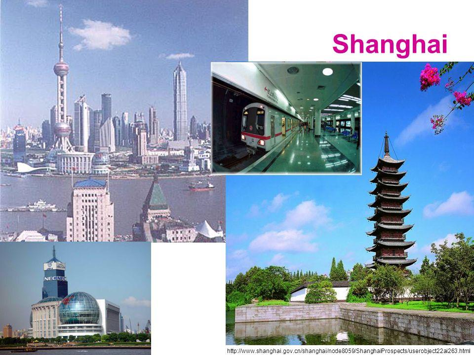 Shanghai http://www.shanghai.gov.cn/shanghai/node8059/ShanghaiProspects/userobject22ai263.html