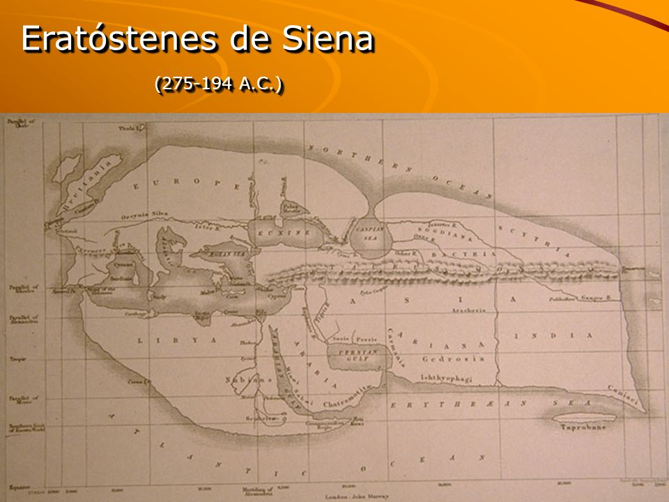 Eratóstenes de Siena (275-194 A.C.)