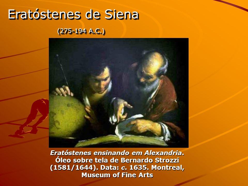 Eratóstenes ensinando em Alexandria.