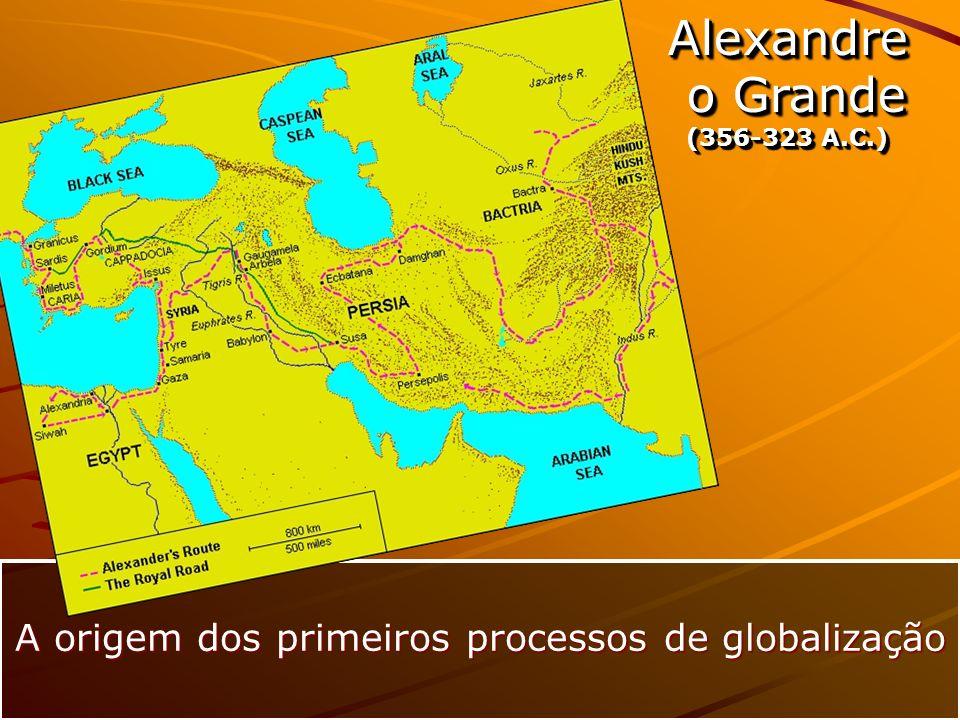 A origem dos primeiros processos de globalização