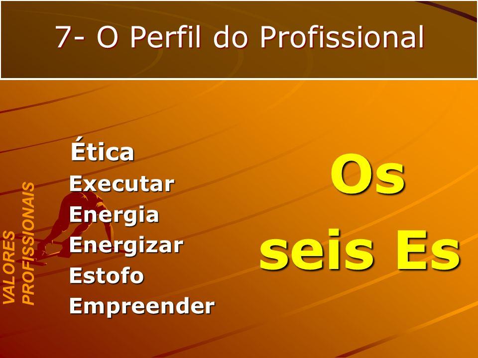 7- O Perfil do Profissional
