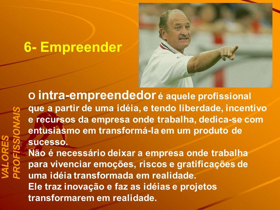 6- Empreender