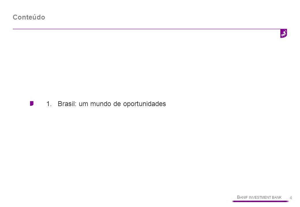 Conteúdo 1. Brasil: um mundo de oportunidades