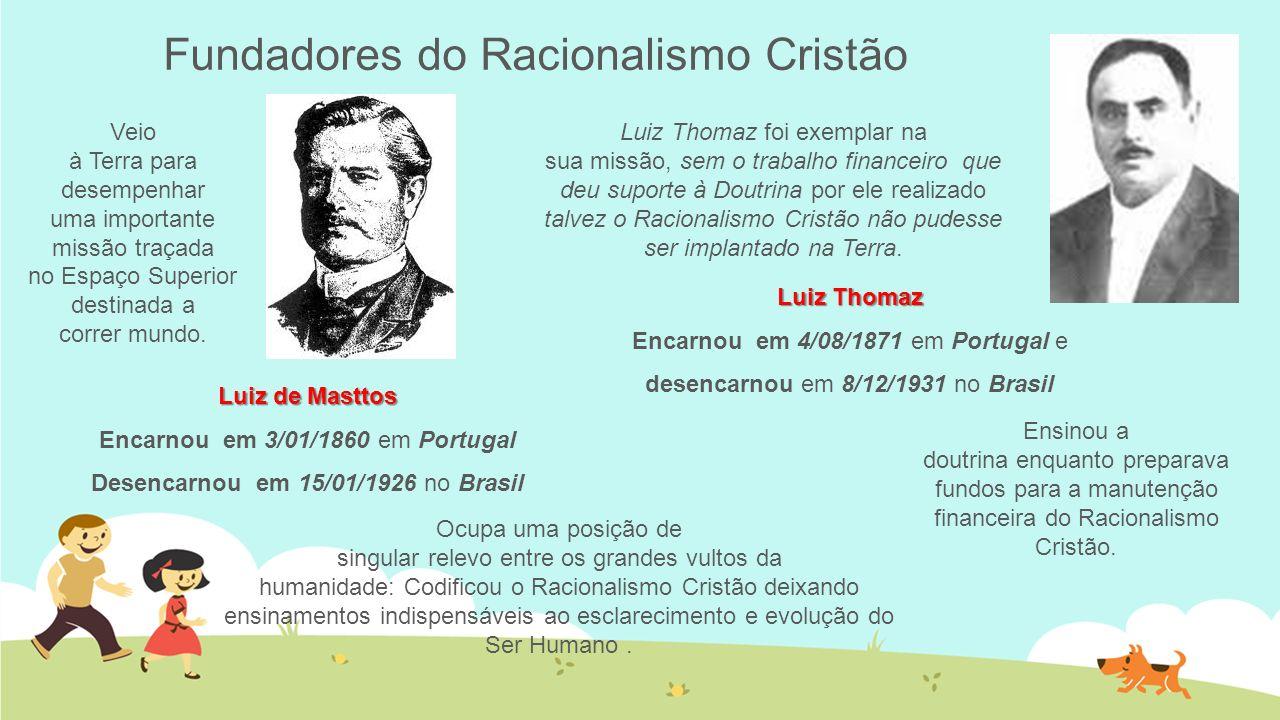 Fundadores do Racionalismo Cristão