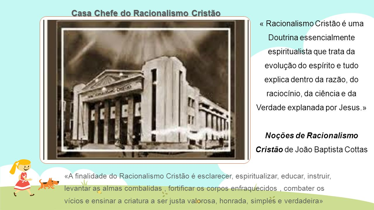 Casa Chefe do Racionalismo Cristão