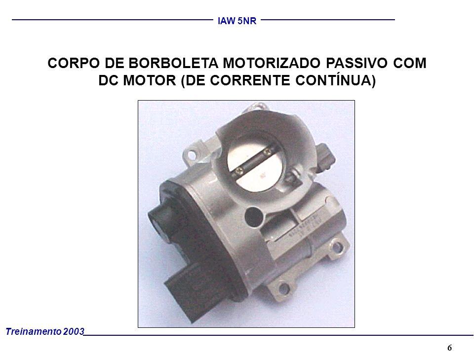 CORPO DE BORBOLETA MOTORIZADO PASSIVO COM