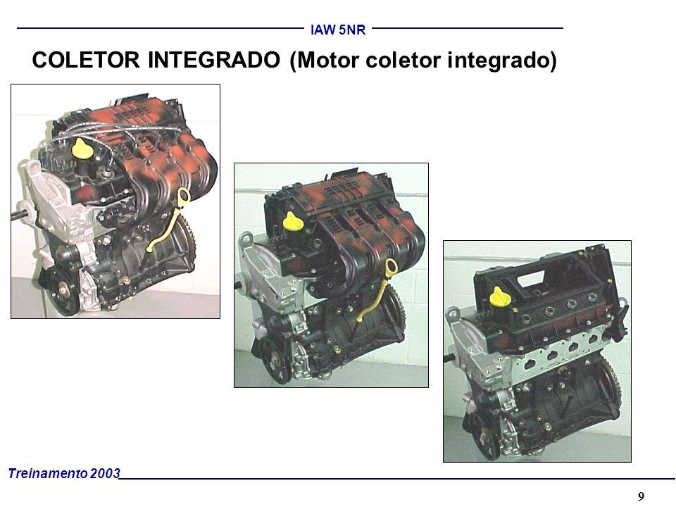 COLETOR INTEGRADO (Motor coletor integrado)