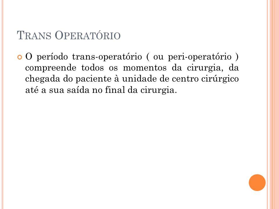 Trans Operatório