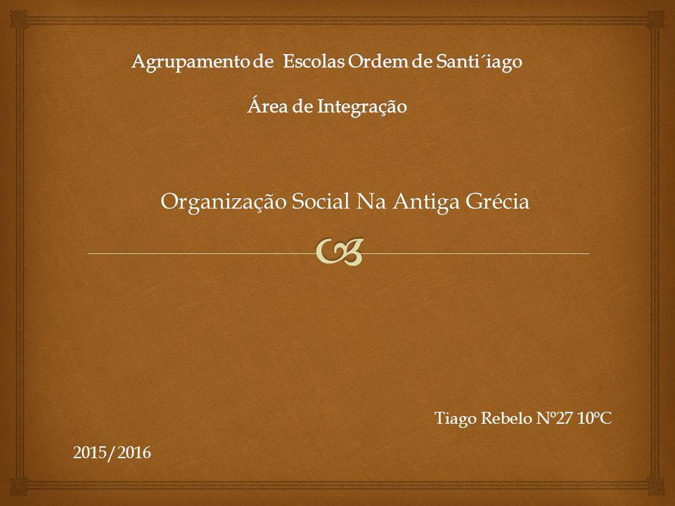 Agrupamento de Escolas Ordem de Santi´iago Área de Integração