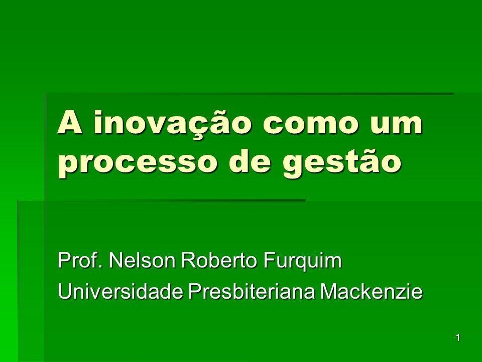 A inovação como um processo de gestão