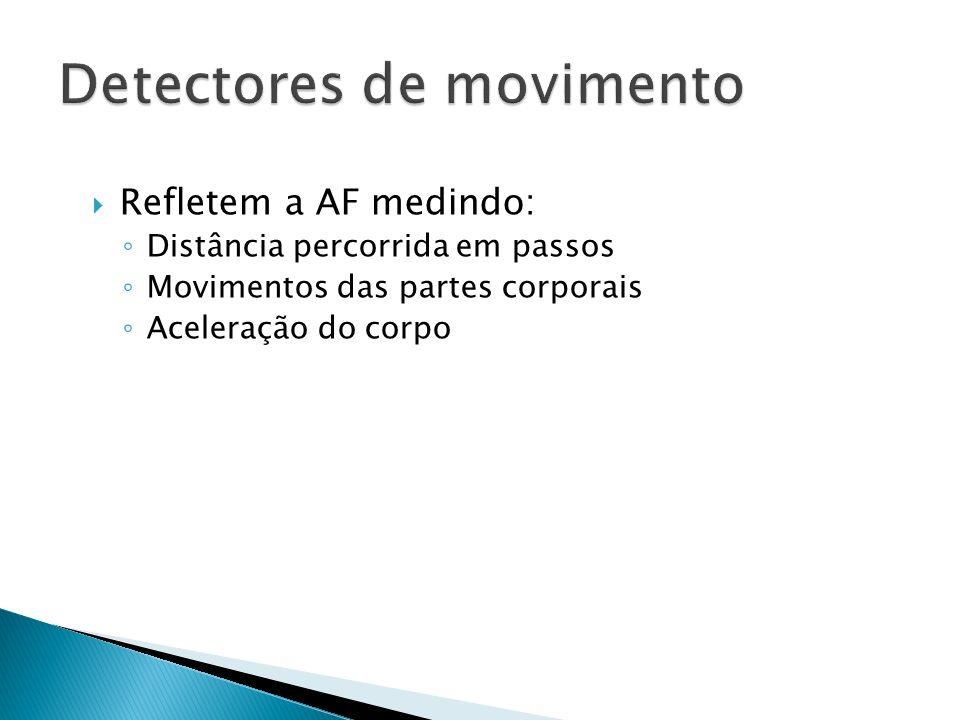 Detectores de movimento