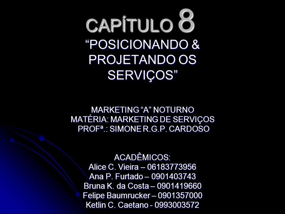 CAPÍTULO 8 POSICIONANDO & PROJETANDO OS SERVIÇOS