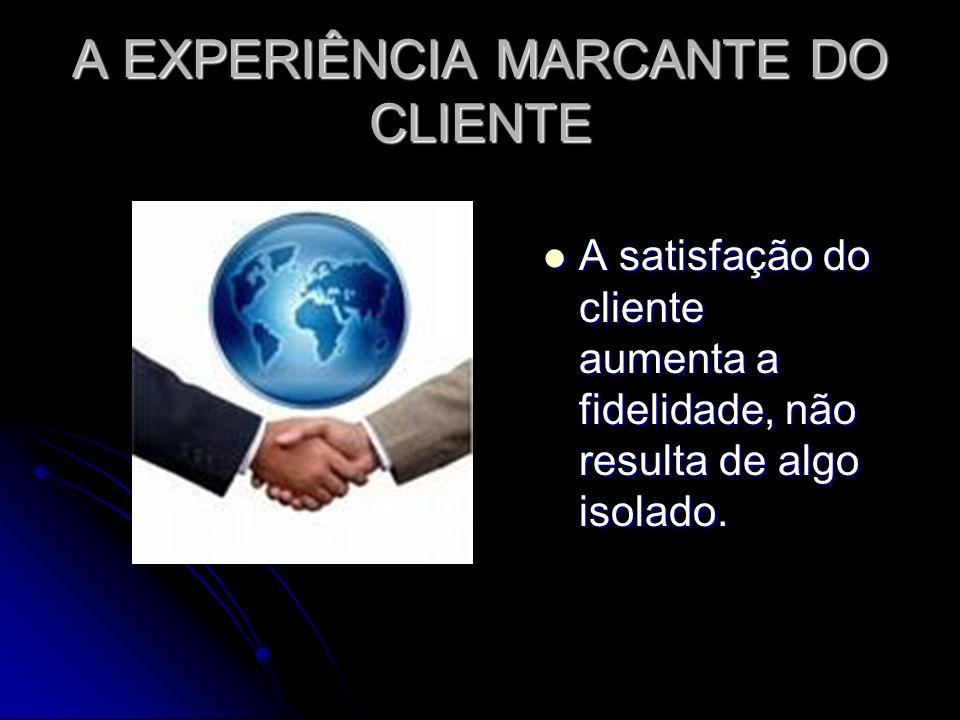 A EXPERIÊNCIA MARCANTE DO CLIENTE
