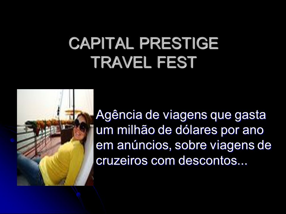 CAPITAL PRESTIGE TRAVEL FEST