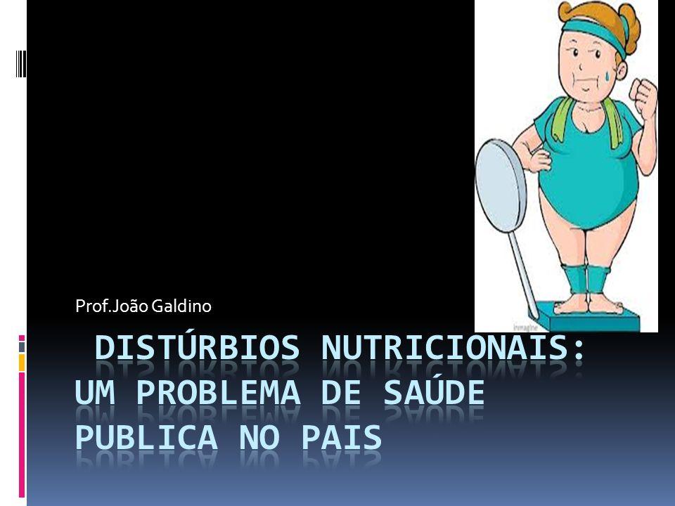 Distúrbios Nutricionais: um Problema de Saúde publica no Pais