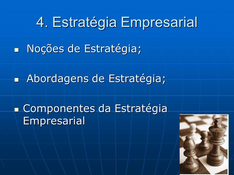 4. Estratégia Empresarial