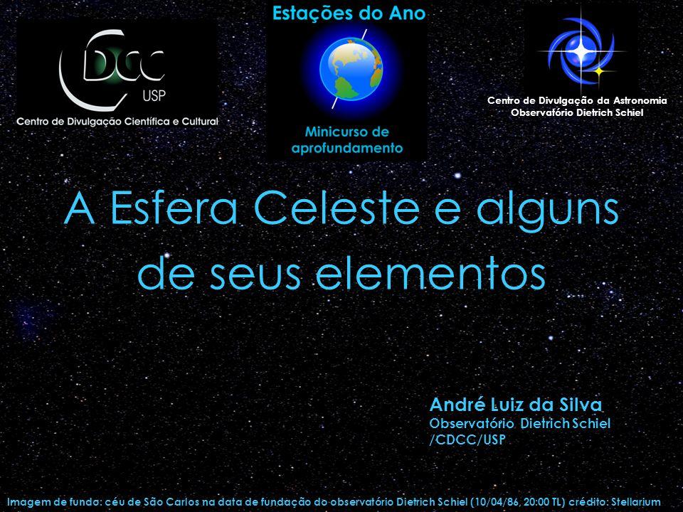 A Esfera Celeste e alguns de seus elementos
