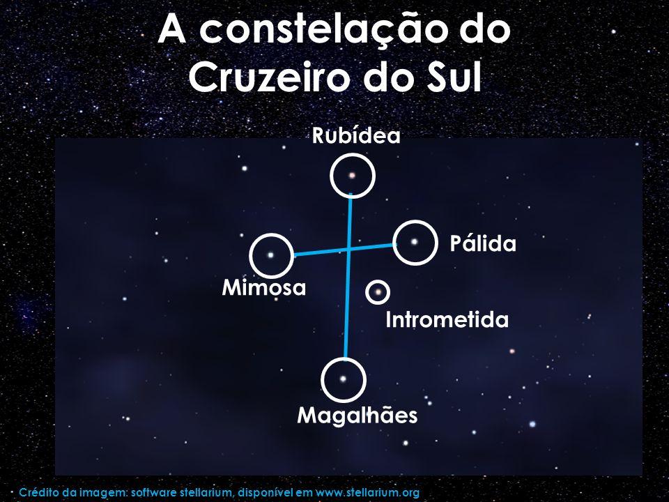 A constelação do Cruzeiro do Sul
