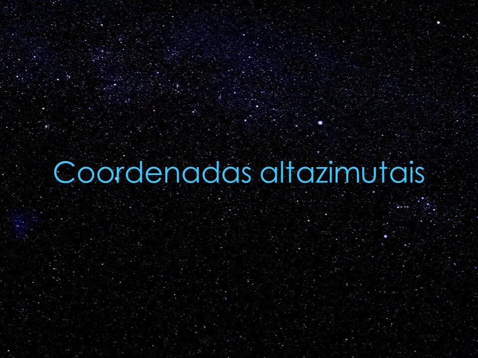 Coordenadas altazimutais