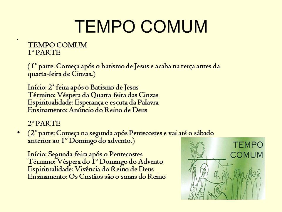 TEMPO COMUM