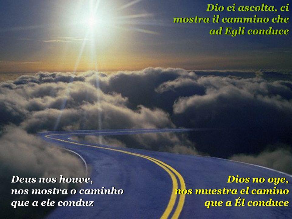 Dio ci ascolta, ci mostra il cammino che ad Egli conduce