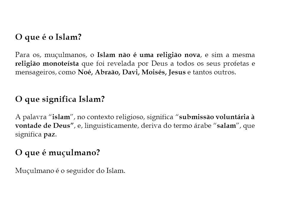 O que é o Islam O que significa Islam O que é muçulmano