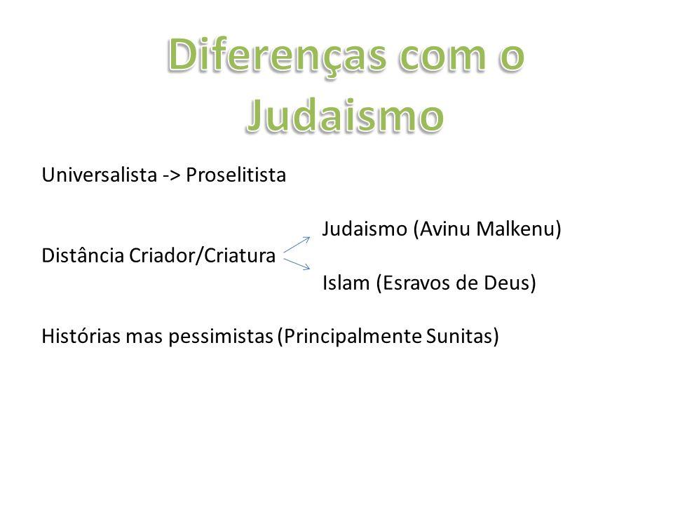 Diferenças com o Judaismo