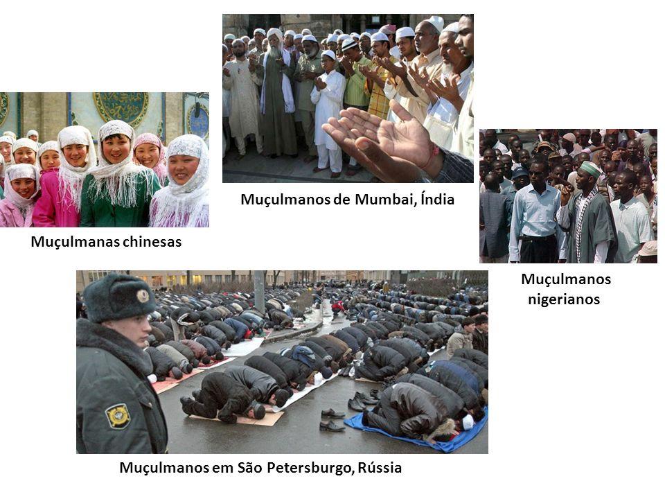 Muçulmanos de Mumbai, Índia Muçulmanos nigerianos