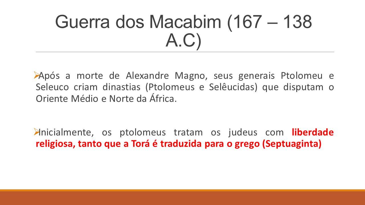 Guerra dos Macabim (167 – 138 A.C)