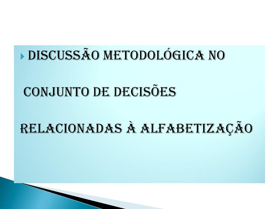 Discussão metodológica no