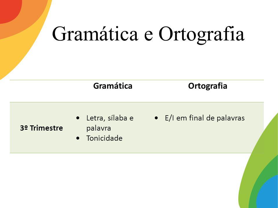 Gramática e Ortografia