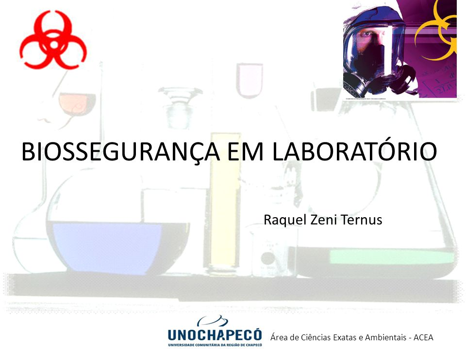 Manual de biossegurança laboratorio