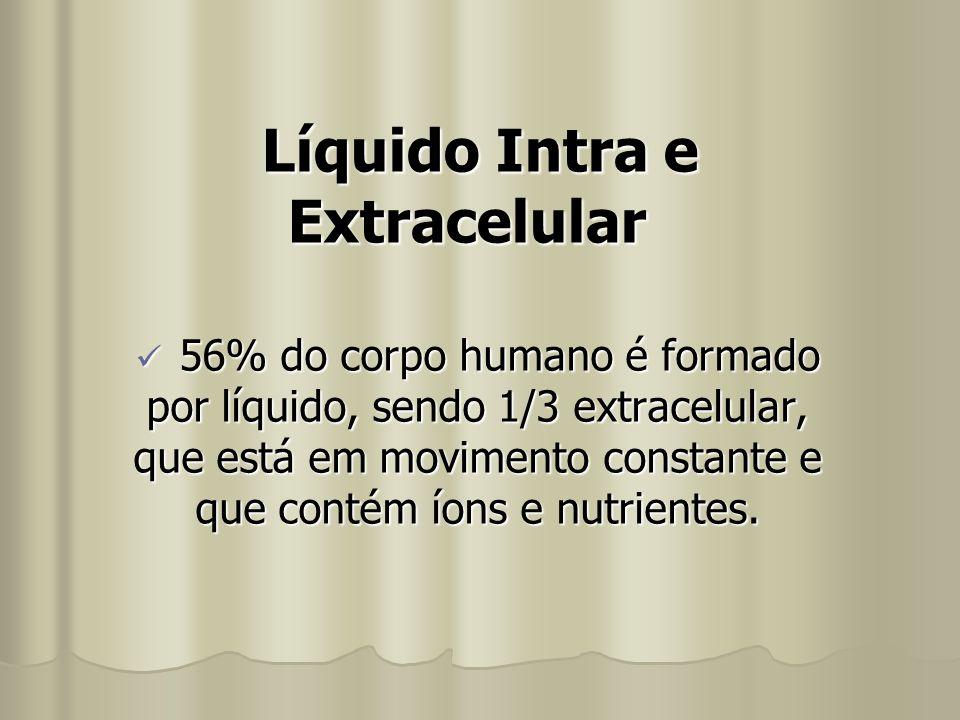 Líquido Intra e Extracelular