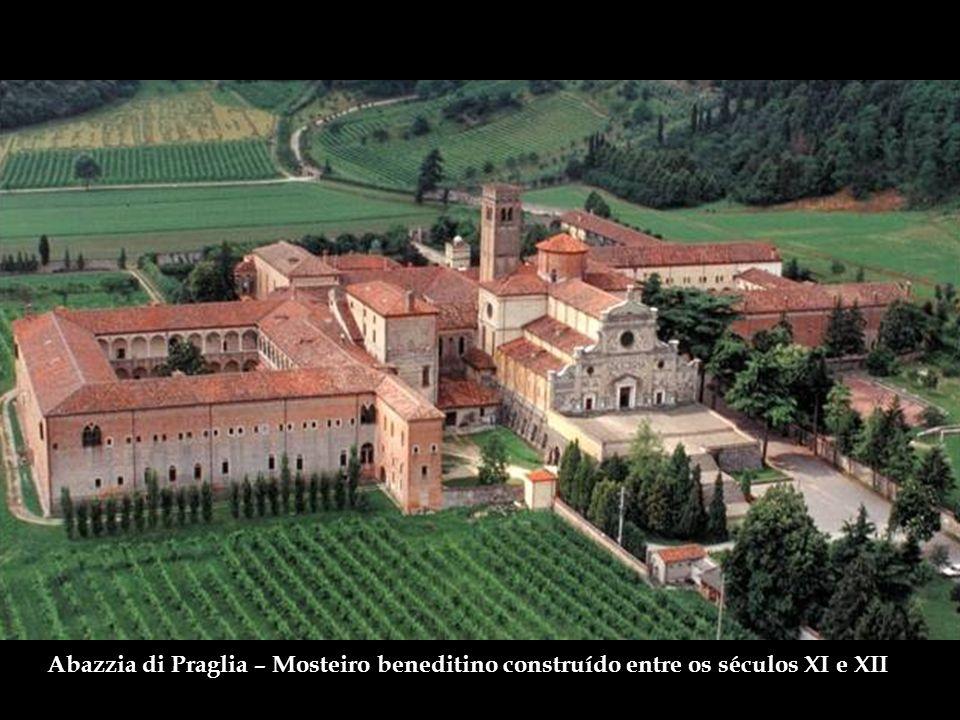 Abazzia di Praglia – Mosteiro beneditino construído entre os séculos XI e XII