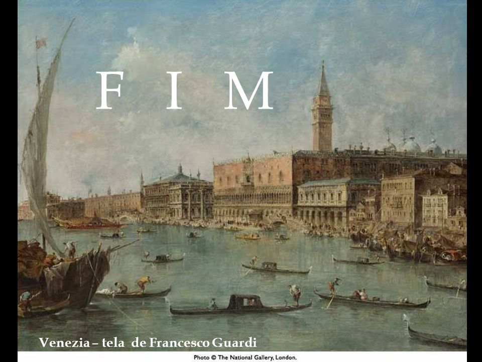 F I M Venezia – tela de Francesco Guardi