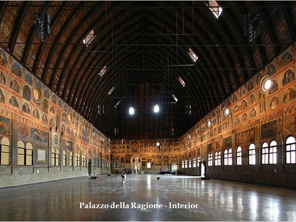 Palazzo della Ragione - Interior