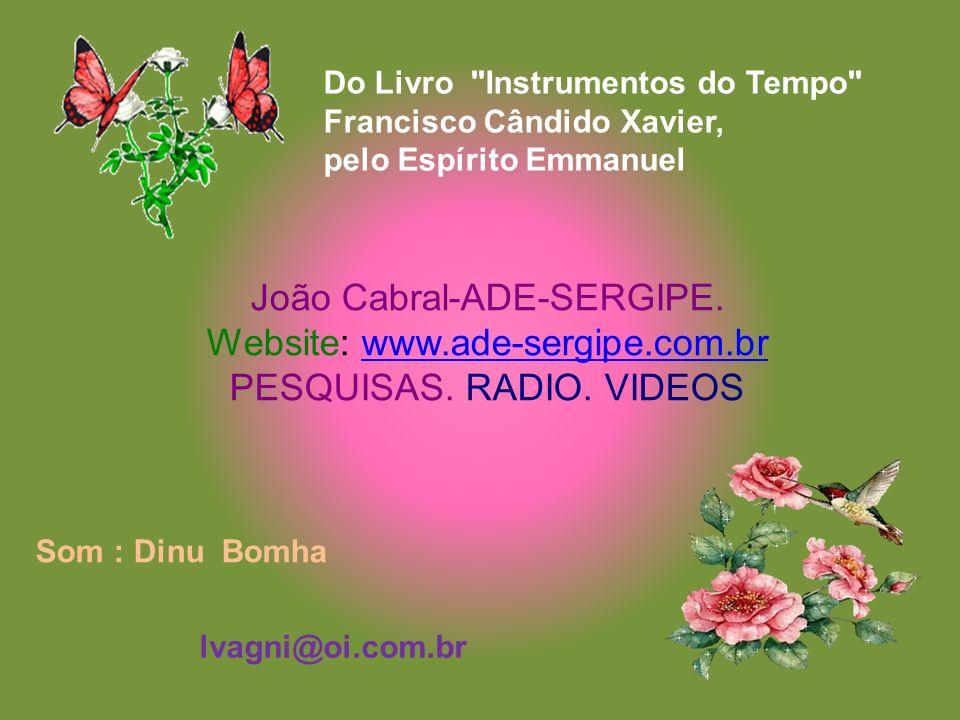 João Cabral-ADE-SERGIPE. Website: www.ade-sergipe.com.br
