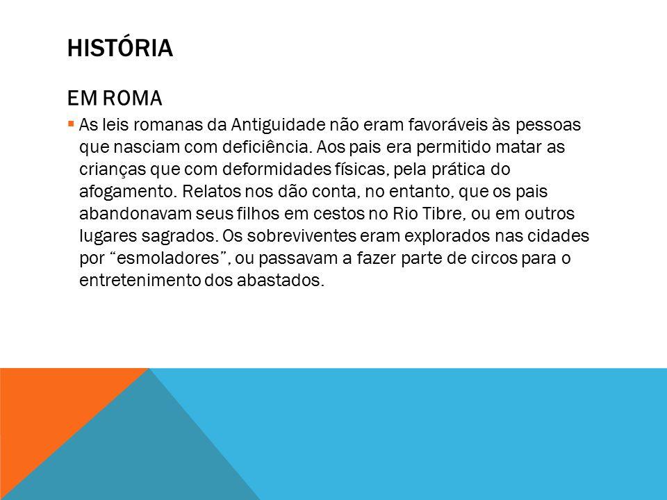História EM ROMA.