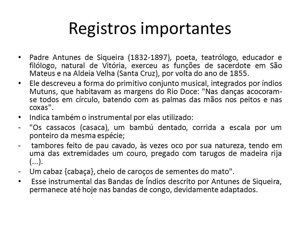 Registros importantes