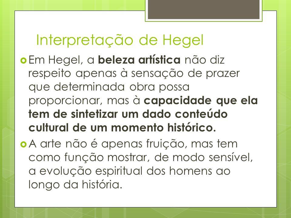 Interpretação de Hegel
