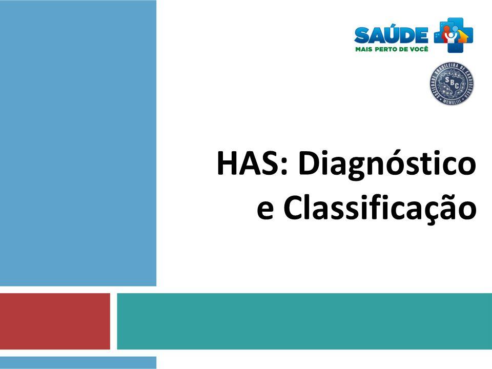 HAS: Diagnóstico e Classificação