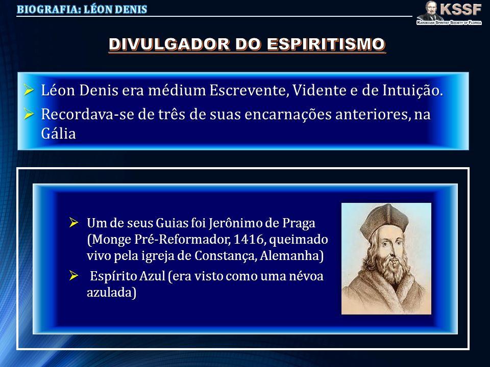DIVULGADOR DO ESPIRITISMO